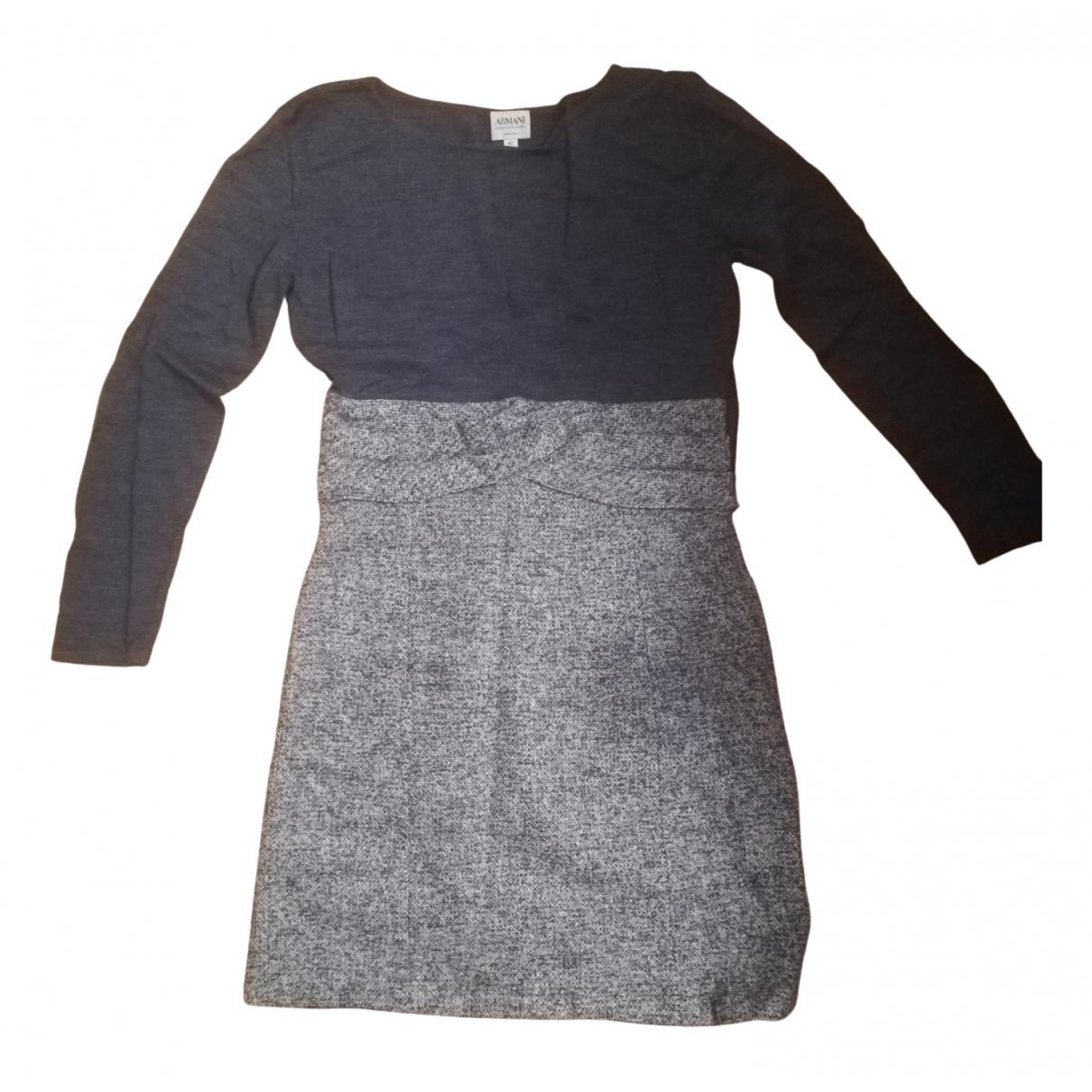 Vestido midi de Lana Armani Collezioni