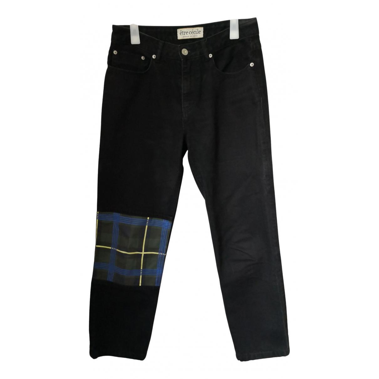 Etre Cecile N Black Denim - Jeans Jeans for Women 28 US