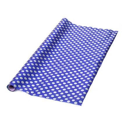 Gift Wrap Roll Foil Polka Dots 27.5