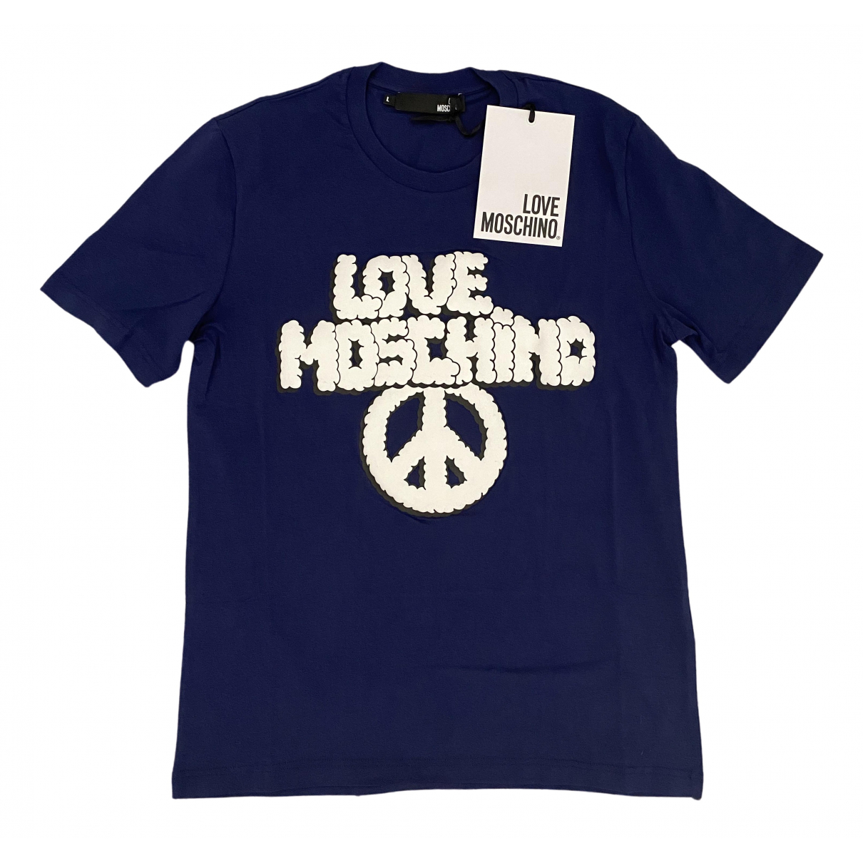 Moschino Love \N T-Shirts in  Blau Baumwolle