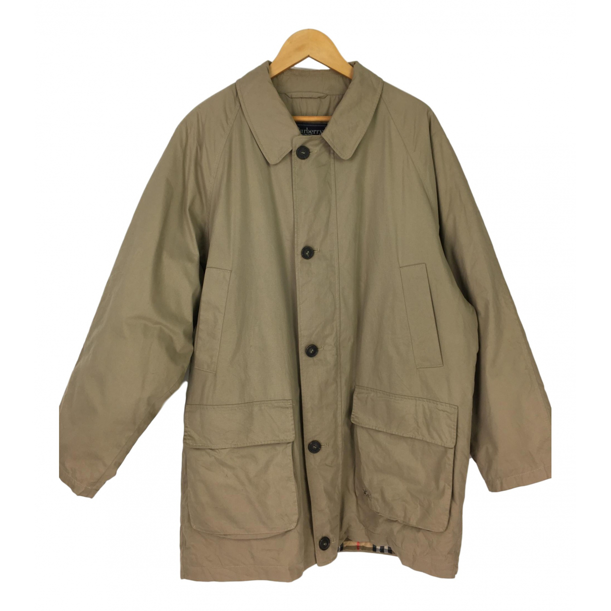 Burberry - Vestes.Blousons   pour homme en coton - beige