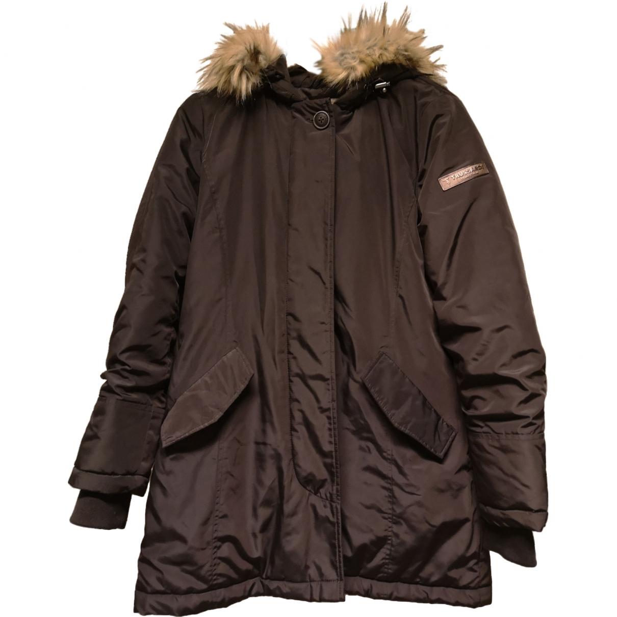 Trussardi \N Brown coat for Women 42 FR