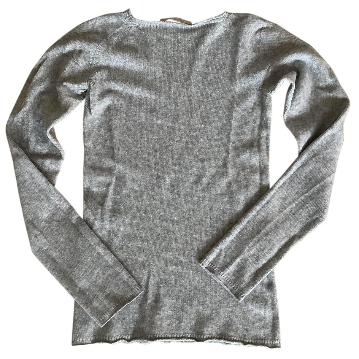 Stefanel - Pull   pour femme en laine - gris