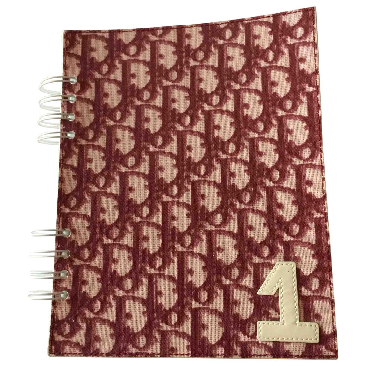 Cuaderno de Lona Dior
