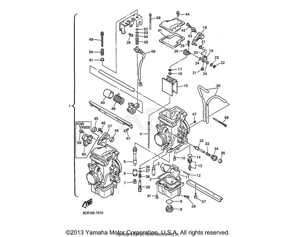 Yamaha OEM 8AY-14147-00-00 O-RING