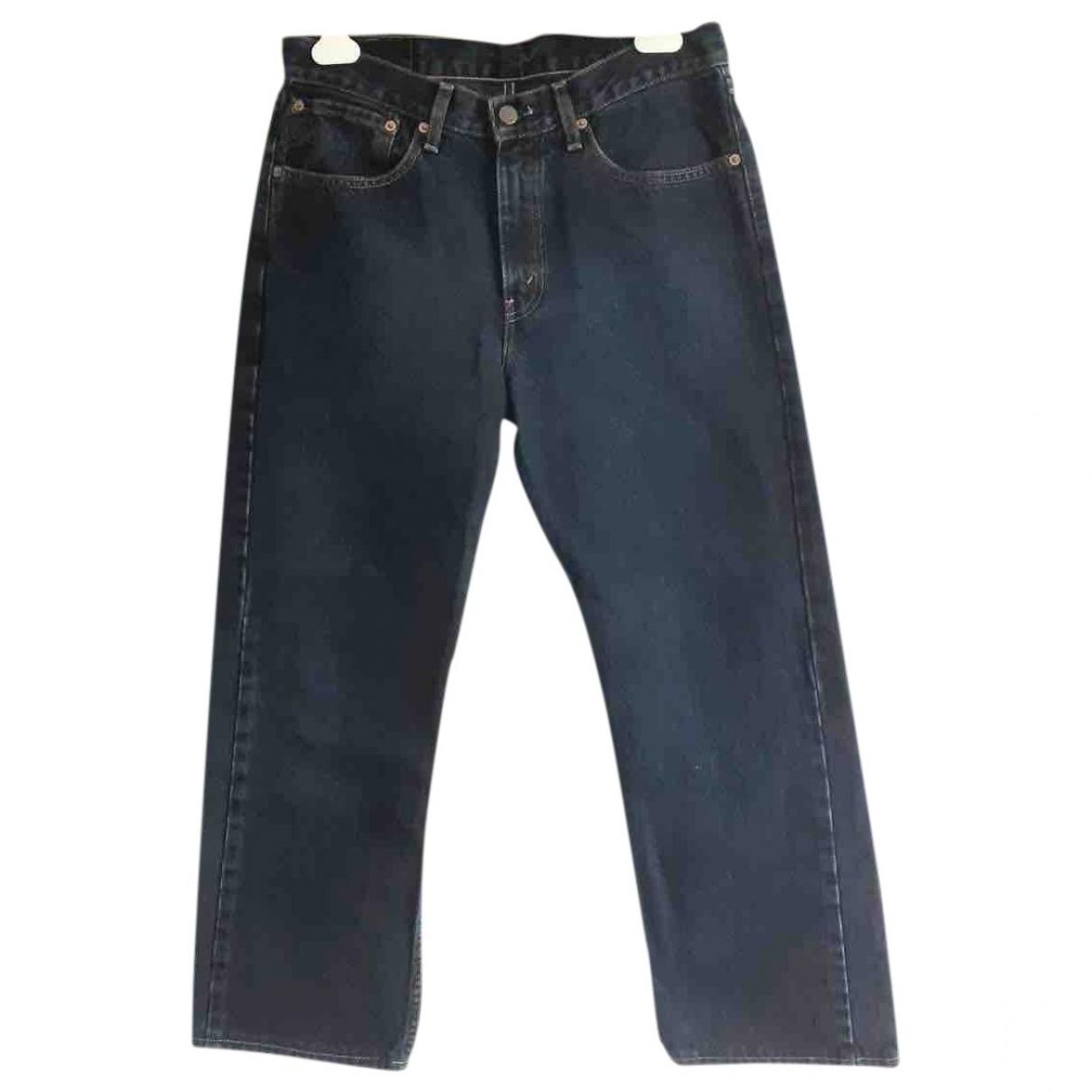 Levi's \N Blue Cotton Jeans for Men 32 US