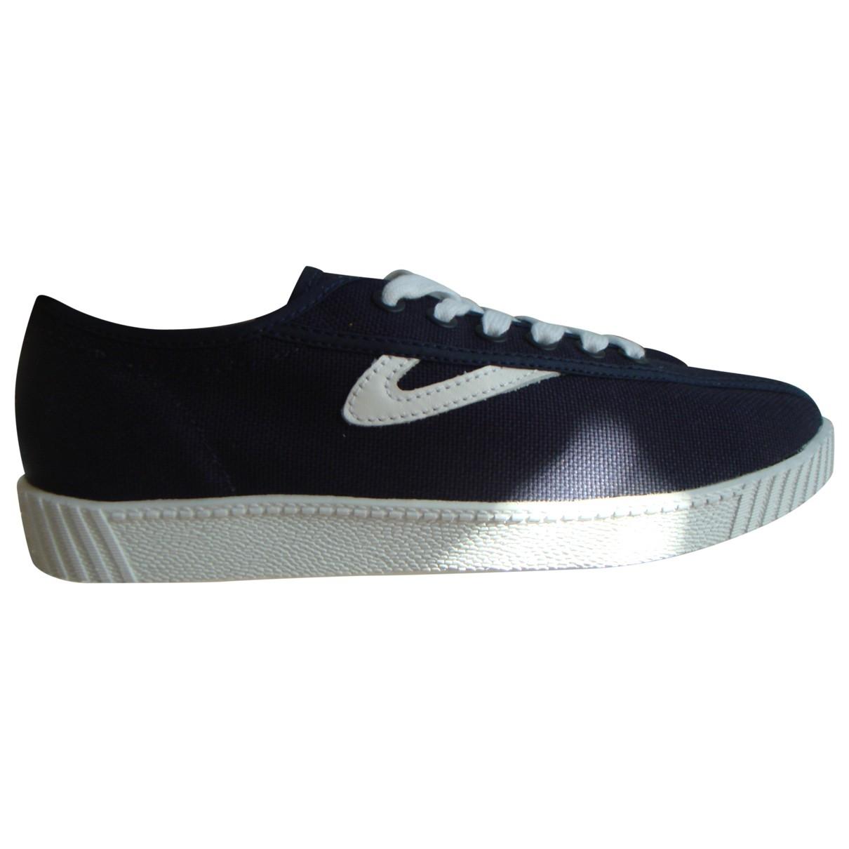 Tretorn \N Sneakers in  Marine Leinen