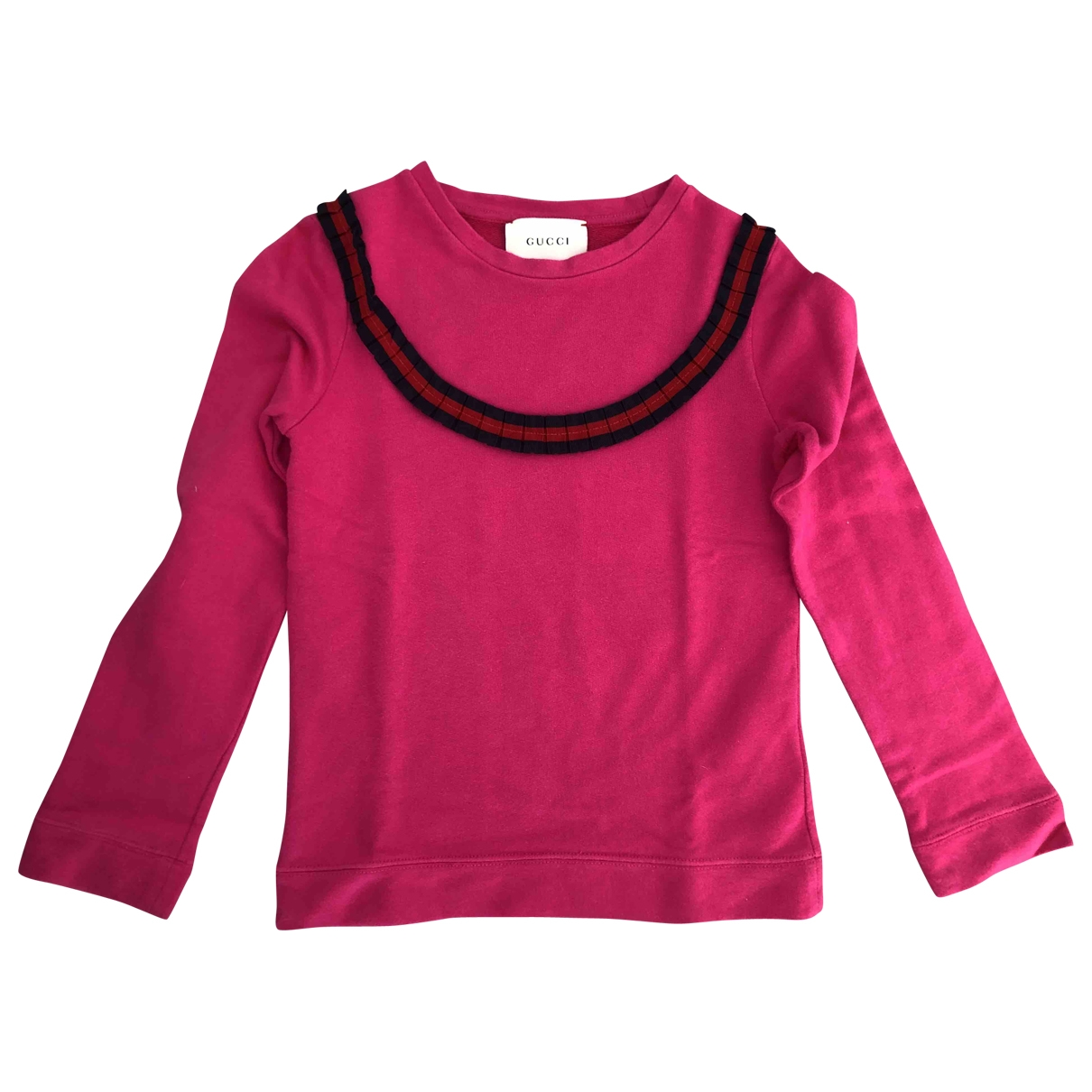 Gucci \N Pink Cotton Knitwear for Kids 8 years - up to 128cm FR