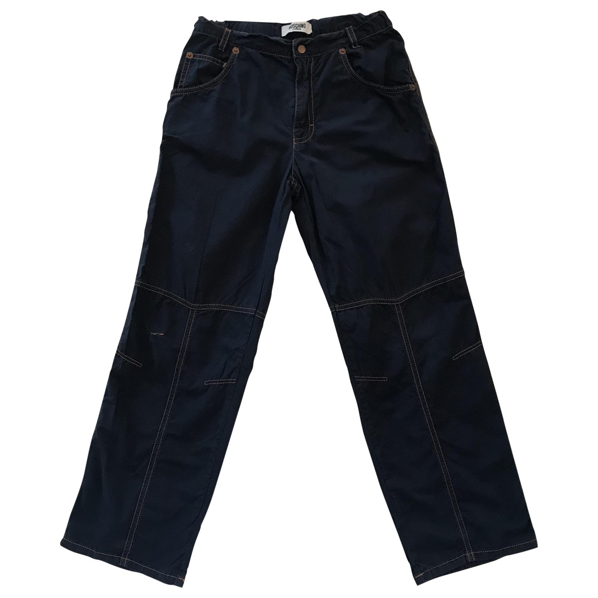 Moschino \N Blue Cotton Trousers for Kids 8 years - up to 128cm FR