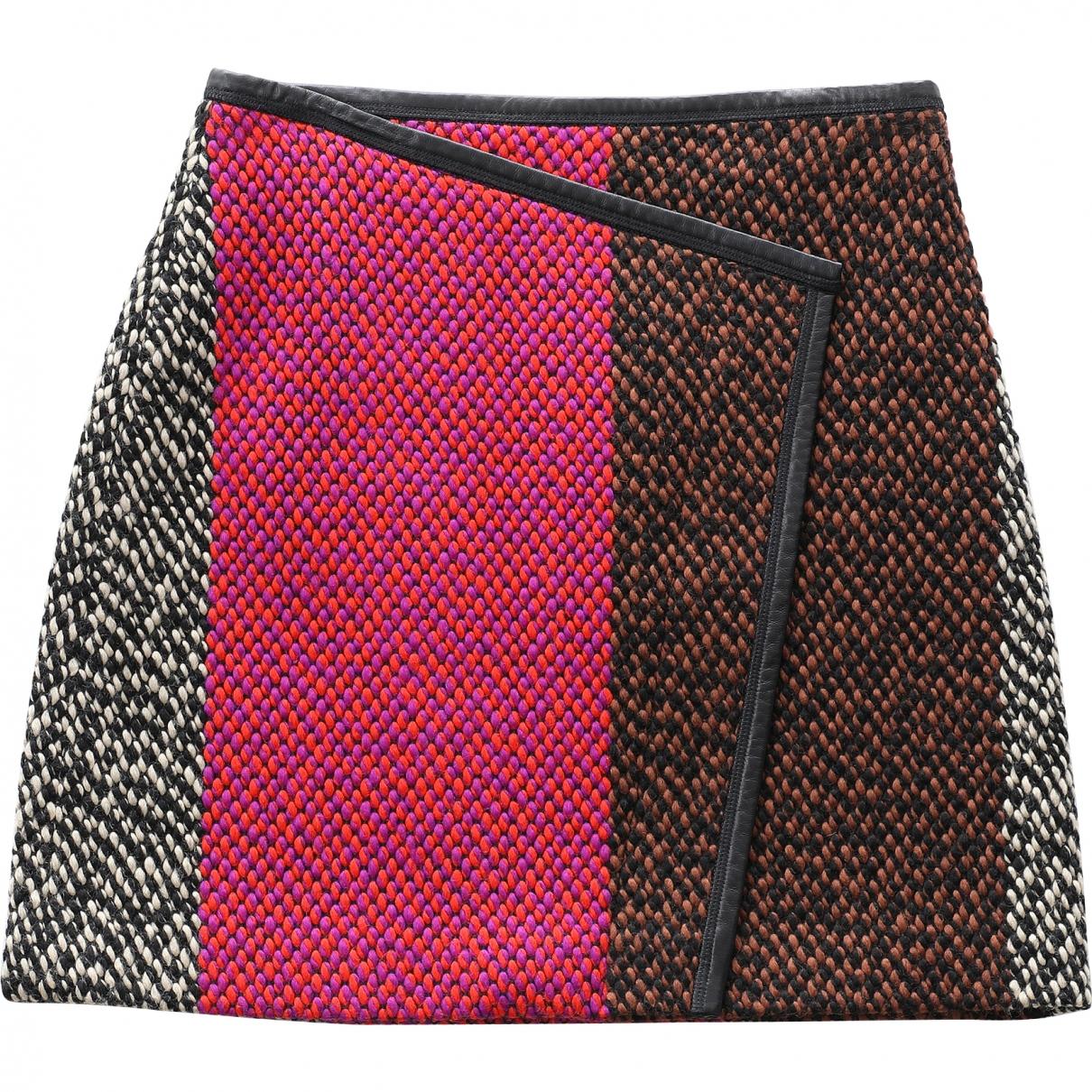 Fendi N Multicolour Wool skirt for Women 42 IT