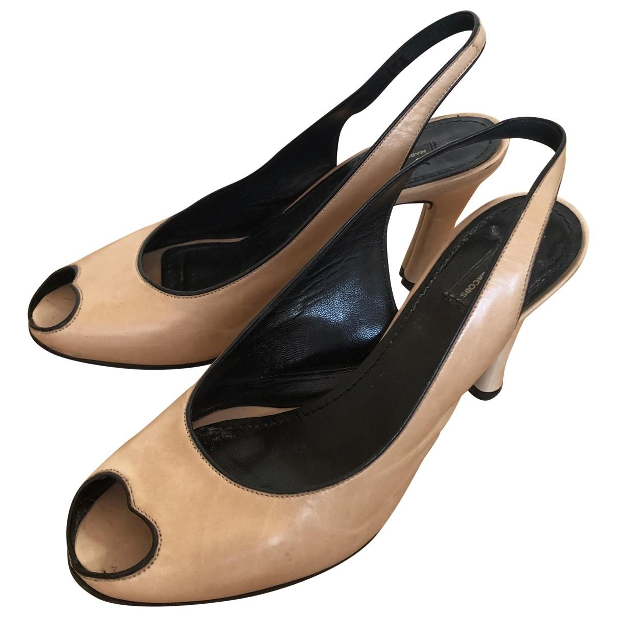 Marc Jacobs - Sandales   pour femme en cuir