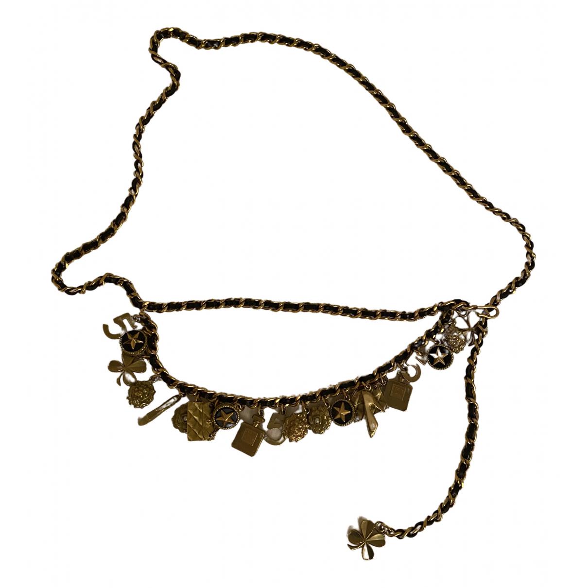 Chanel N Gold Chain belt for Women M International
