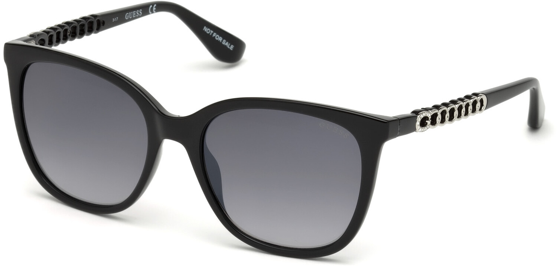 Guess Women's Gradient Gu7545 GU7545-S-01B-54 Black Rectangle Sunglasses