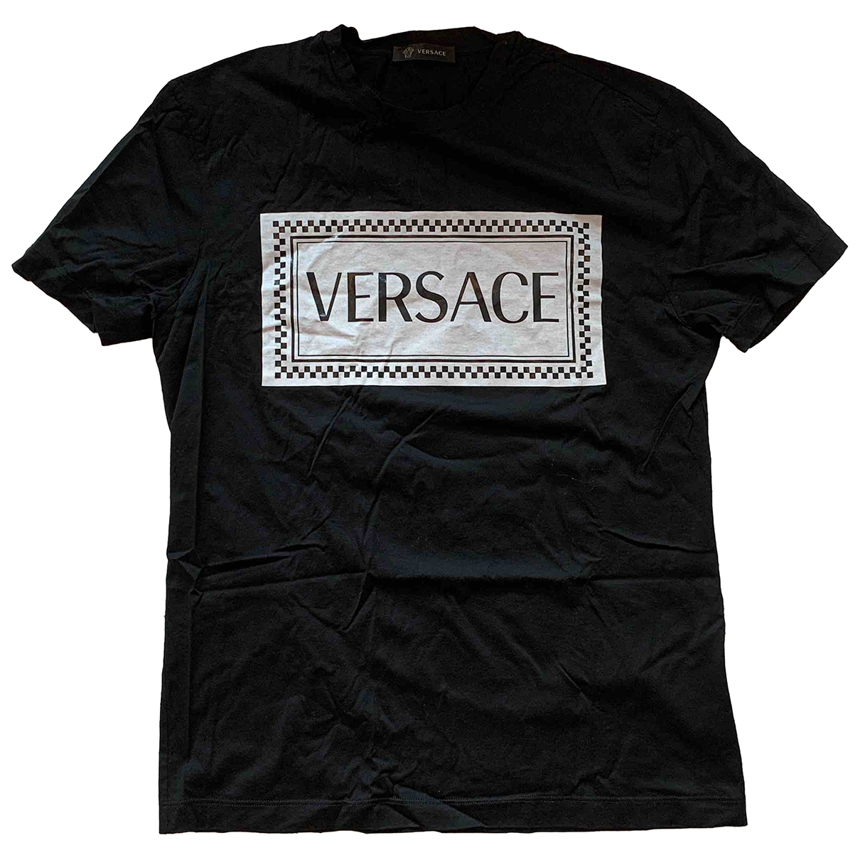Versace \N Black Cotton T-shirts for Men S International
