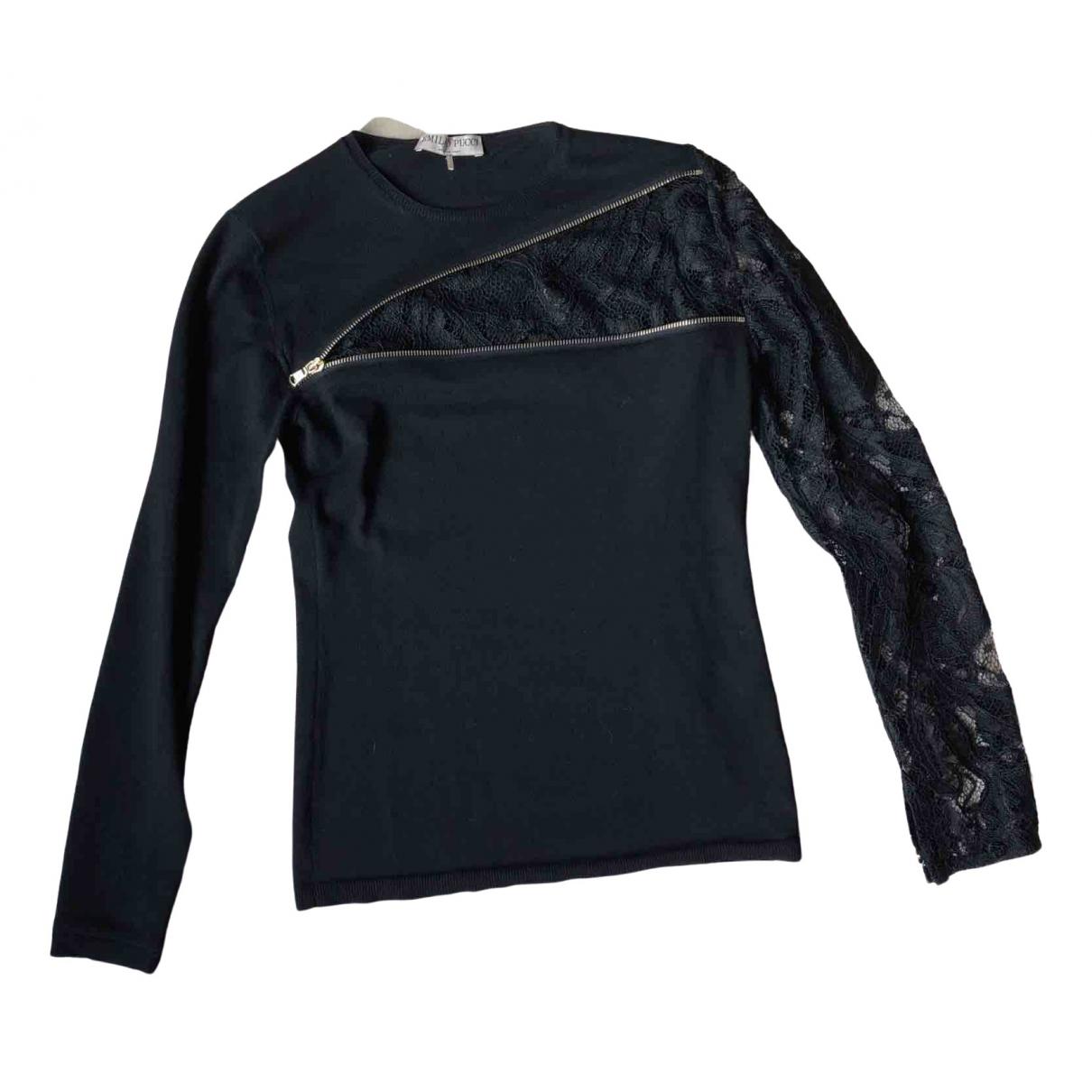 Emilio Pucci - Pull   pour femme en laine - noir