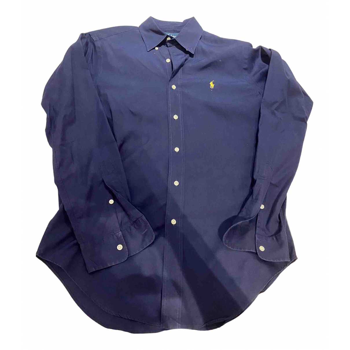 Ralph Lauren \N Navy Cotton Shirts for Men S International