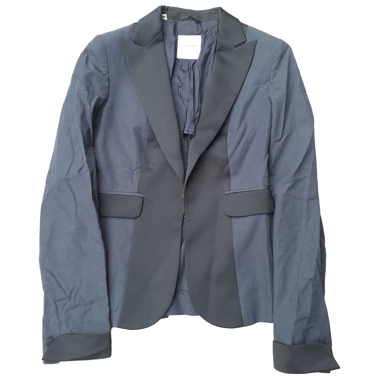 Costume National \N Blue jacket for Women 40 IT