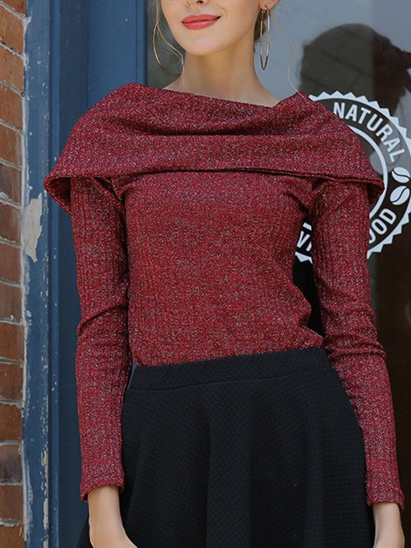 Ericdress Thin Regular Slim Nine Points Women's Sweater