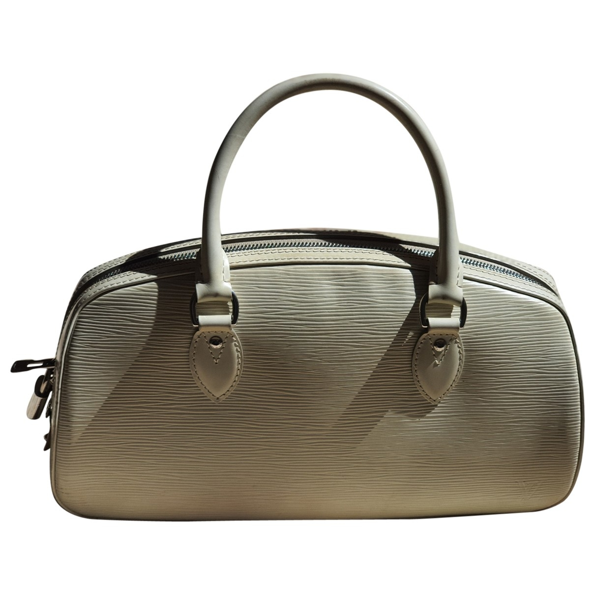 Louis Vuitton Jasmin White Leather handbag for Women \N