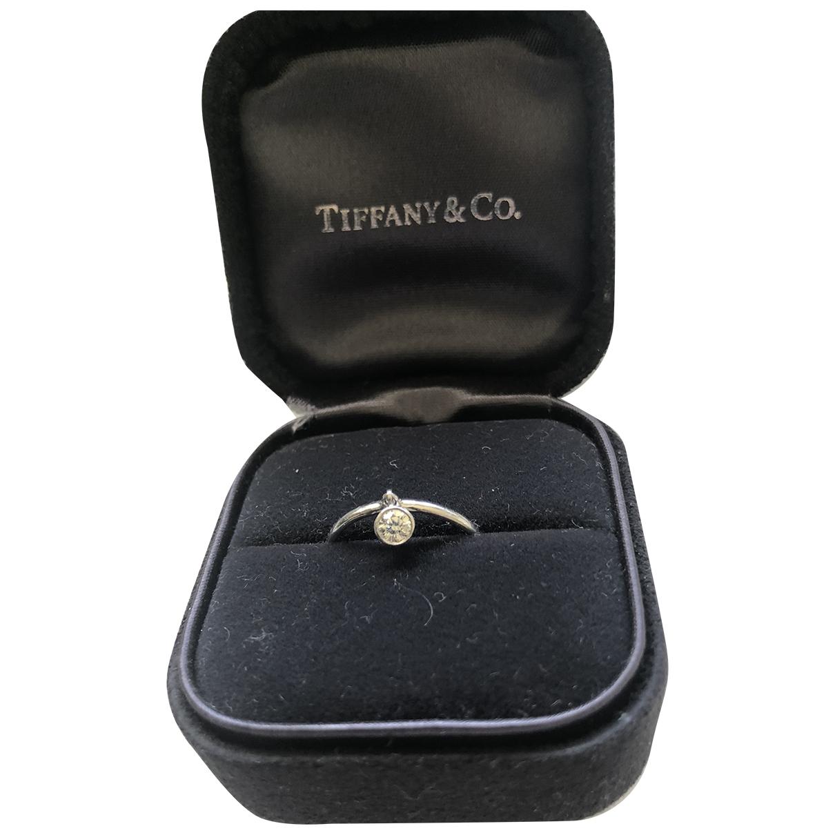 Tiffany & Co - Bague   pour femme en platine - metallise