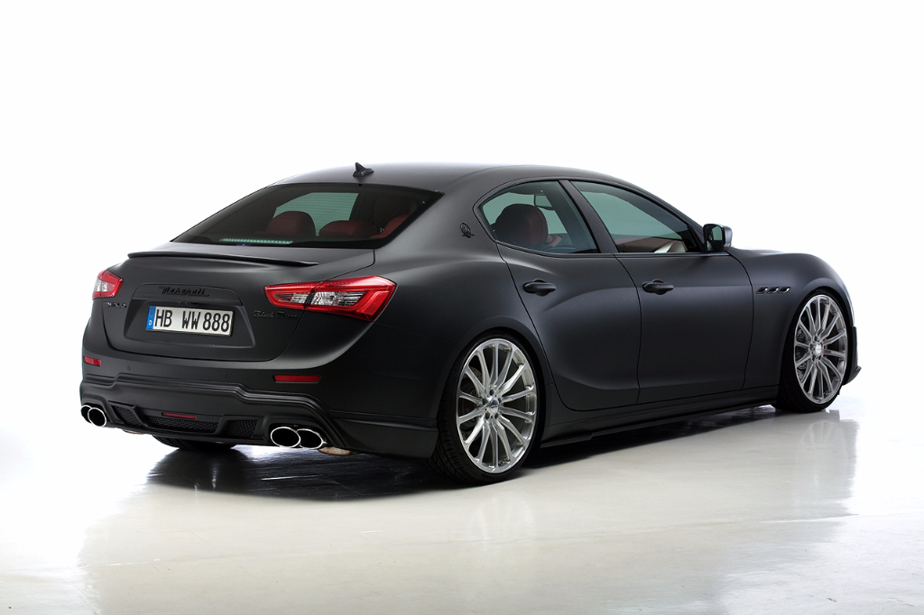 Wald USA GHIBLI.TL.CF.14 Black Bison Edition Trunk Spoiler Carbon Fiber Maserati Ghibli 14-17