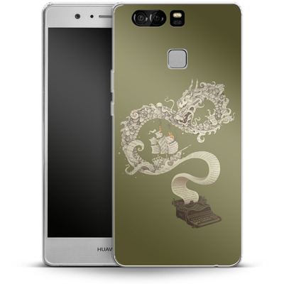 Huawei P9 Silikon Handyhuelle - Unleashed Imagination von Enkel Dika