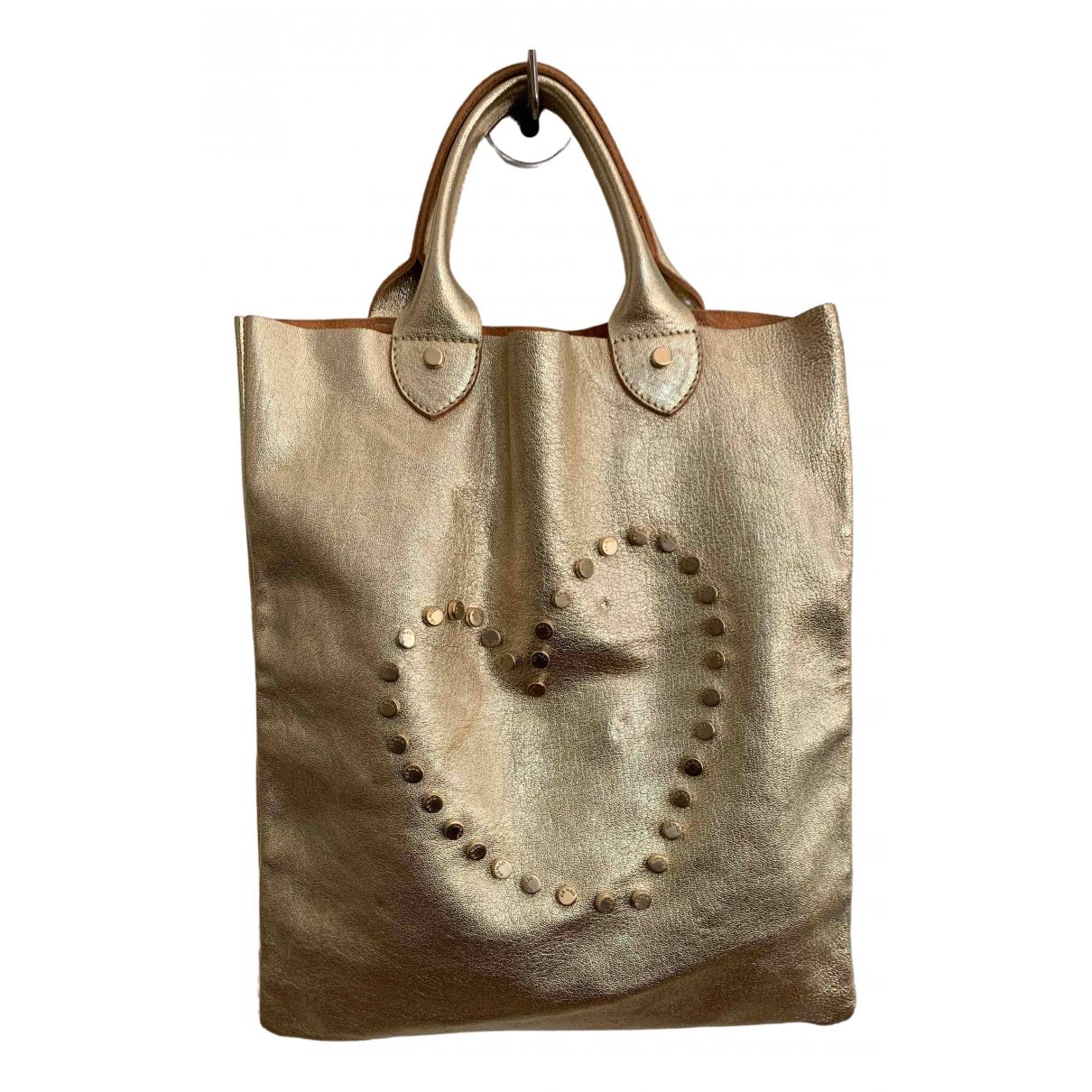 Kenzo \N Handtasche in  Gold Leder