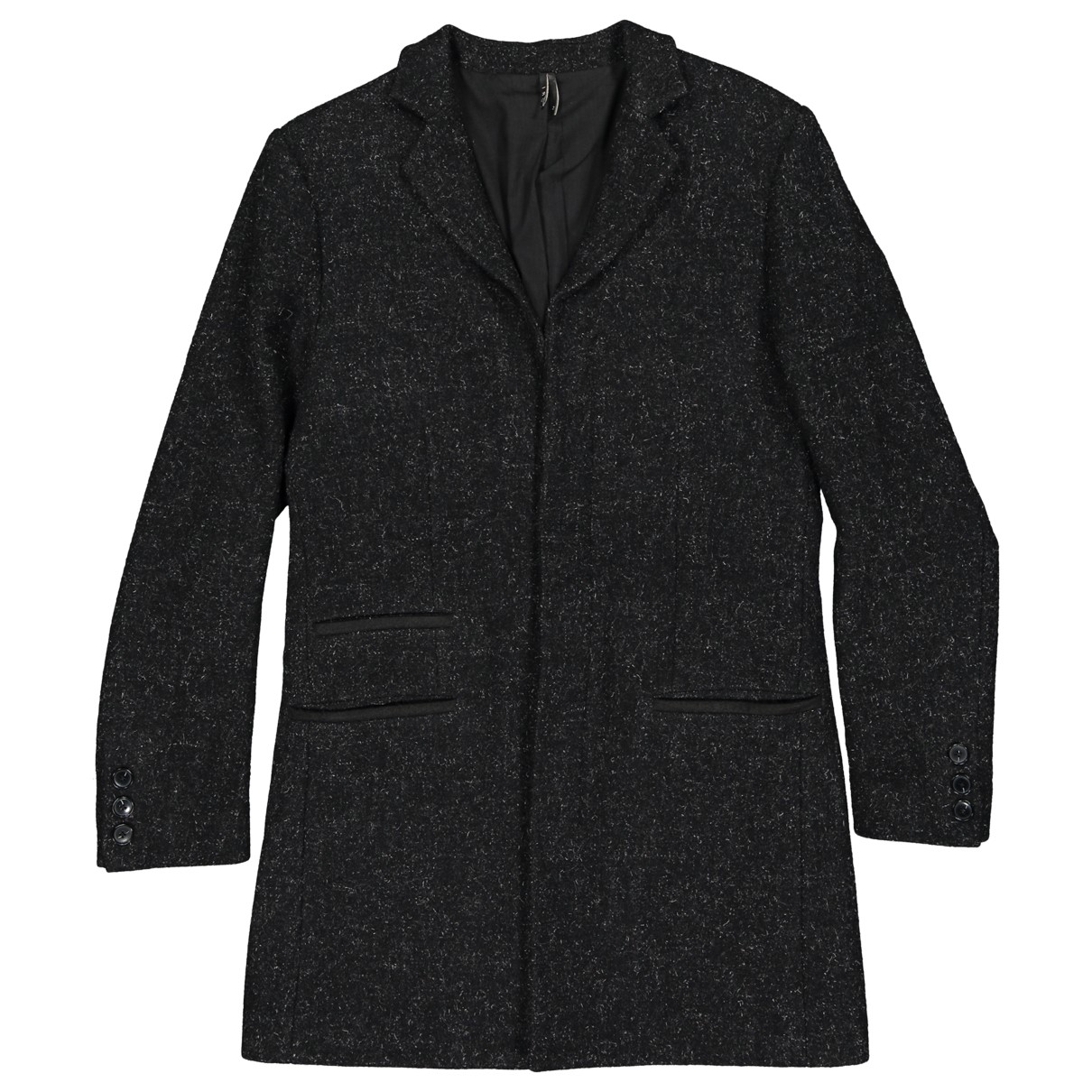 Iro \N Black Wool coat  for Men 2 0 - 6