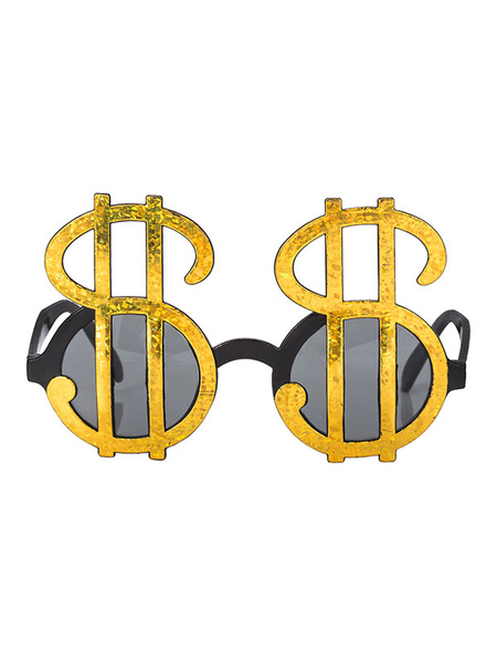 Milanoo Clown Glasses Halloween Dollar Party Costume Accessories