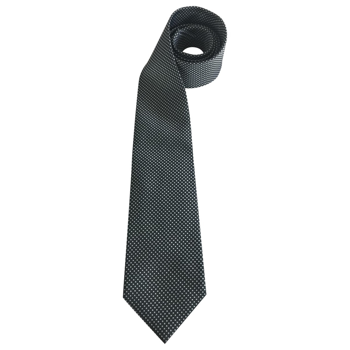 Isaia Napoli \N Krawatten in  Gruen Seide