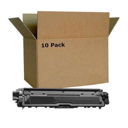 Compatible Brother TN-221 Black Toner Cartridge - Economical Box - 10/Pack
