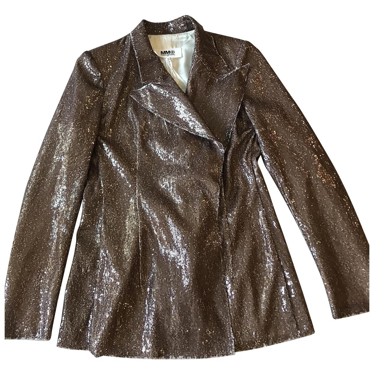 Mm6 - Veste   pour femme - metallise