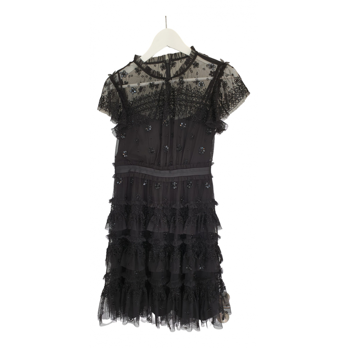 Needle & Thread \N Kleid in  Schwarz Polyester