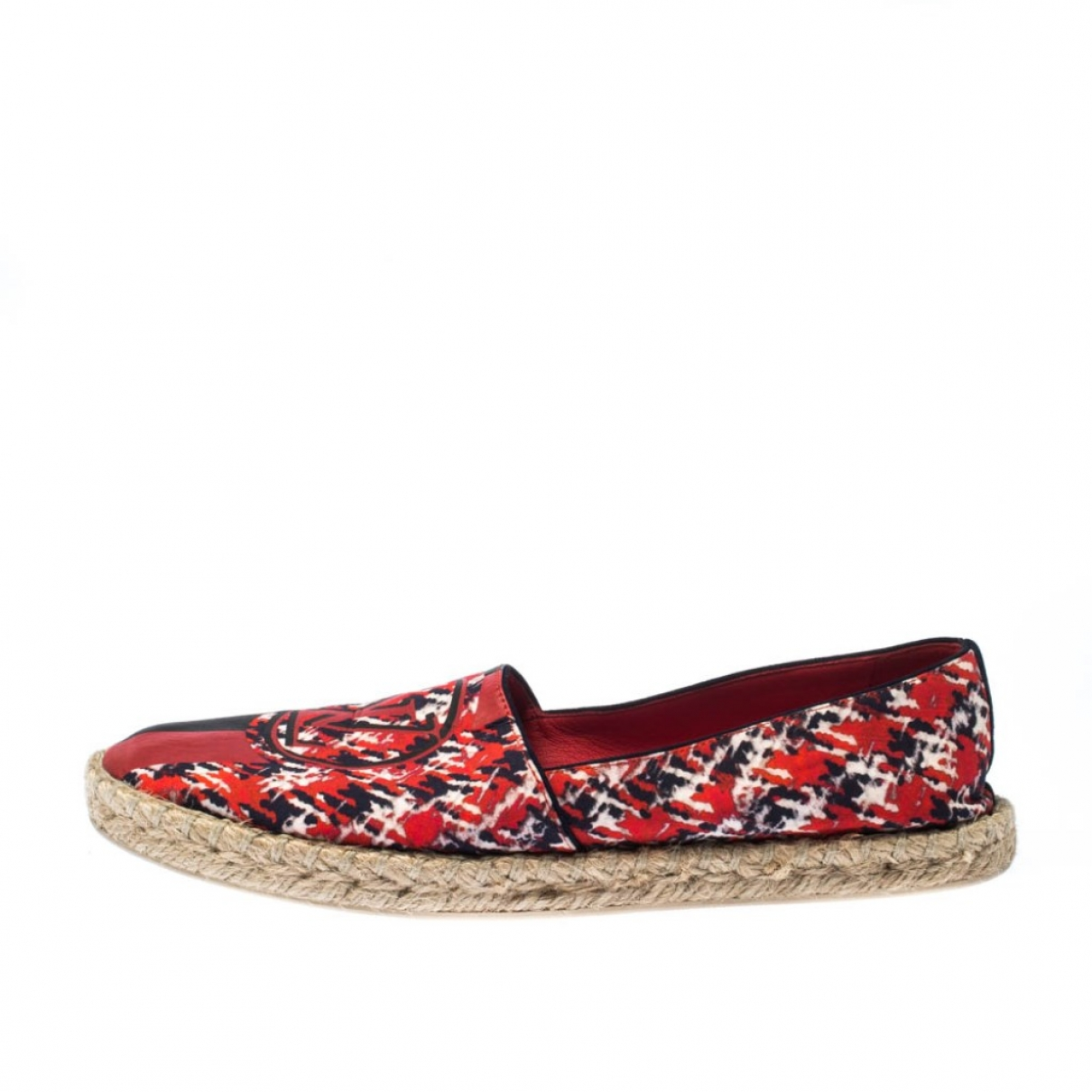 Louis Vuitton \N Espadrilles in  Rot Leinen