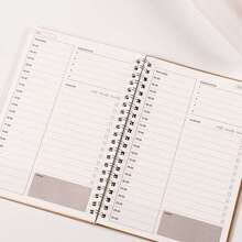 Spiral Daily Plan Notebook 48sheets