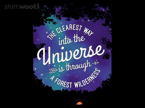Muir's Forest T Shirt