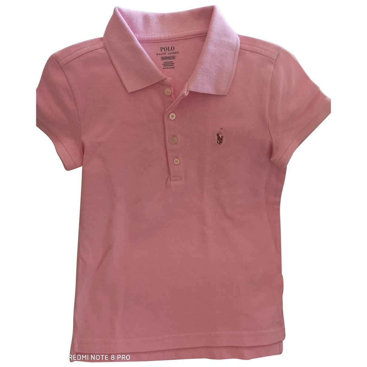 Camisetas en Algodon Rosa Polo Ralph Lauren