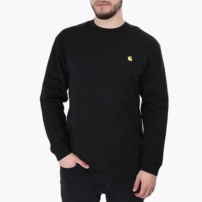 Sweat homme Long Sleeve Carhartt WIP Chase I026392 Black
