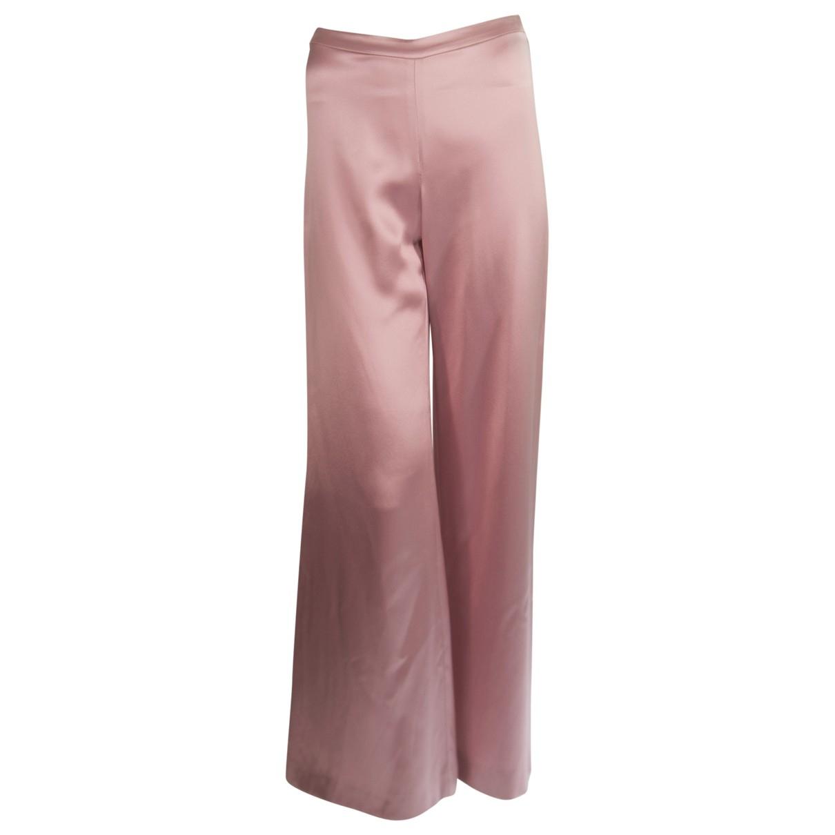 Pantalon largo de Seda Valentino Garavani