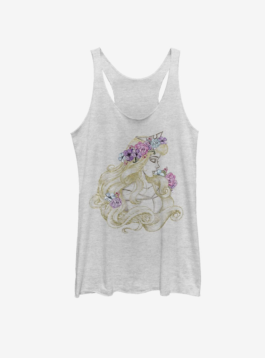 Disney Princess Aurora Profile Womens Tank
