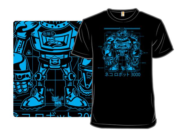 Catbot3000 T Shirt