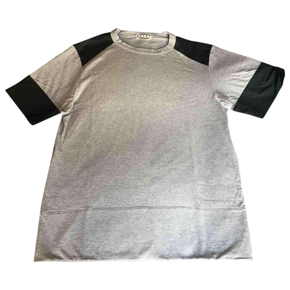 Marni \N T-Shirts in  Grau Baumwolle