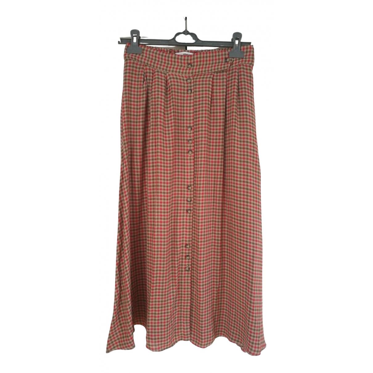 Mango \N Red skirt for Women 36 FR