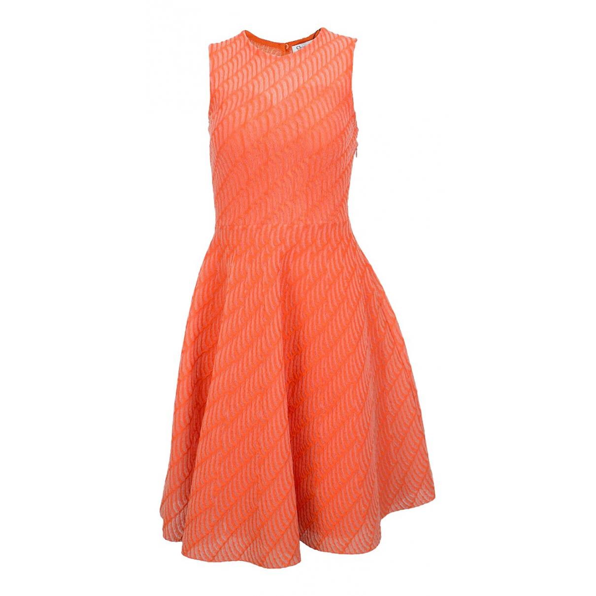 Dior - Robe   pour femme - orange