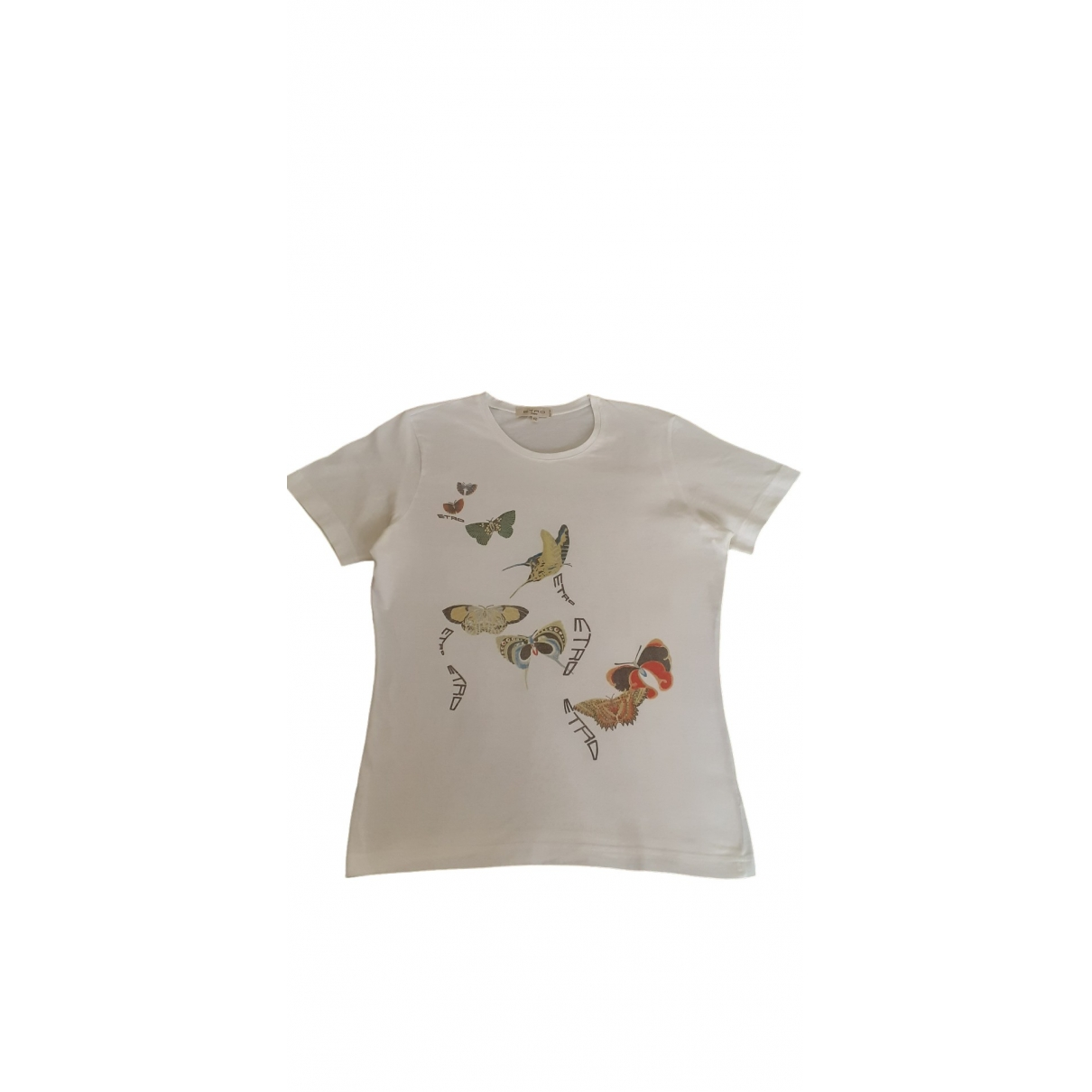 Etro - Top   pour femme en coton - blanc