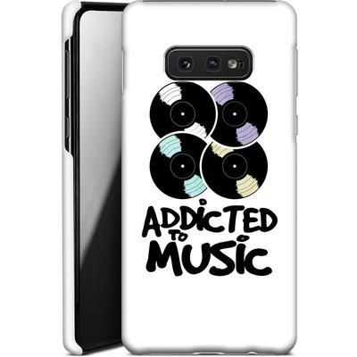 Samsung Galaxy S10e Smartphone Huelle - Addicted To Music von Claus-Peter Schops