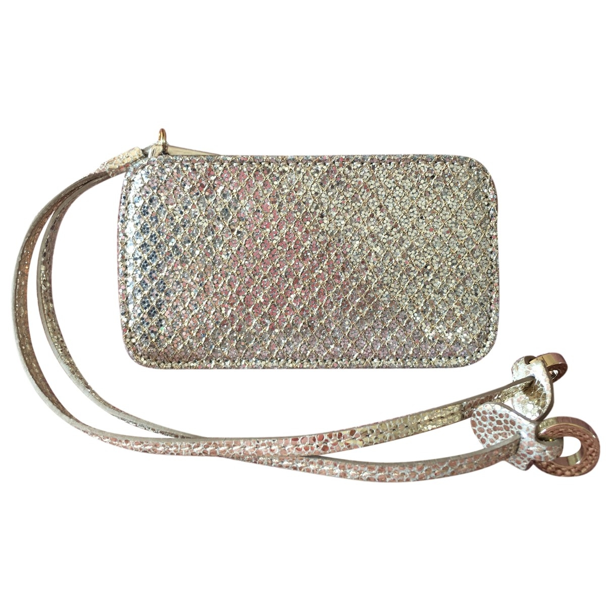 Jimmy Choo \N Silver Leather Purses, wallet & cases for Women \N