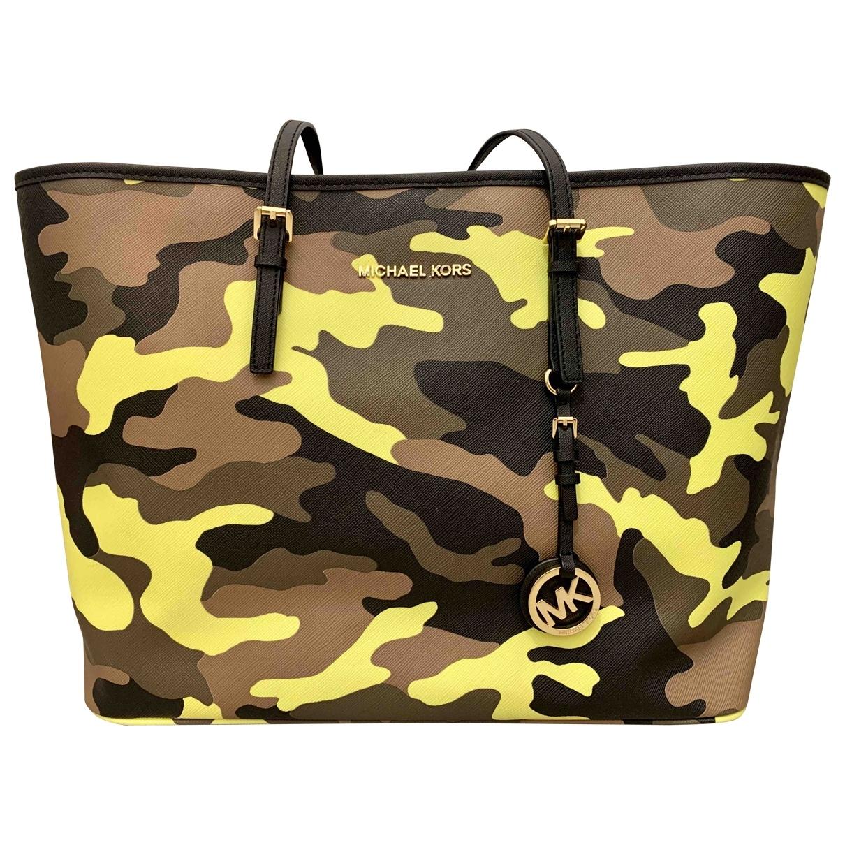 Michael Kors Jet Set Multicolour Leather handbag for Women \N