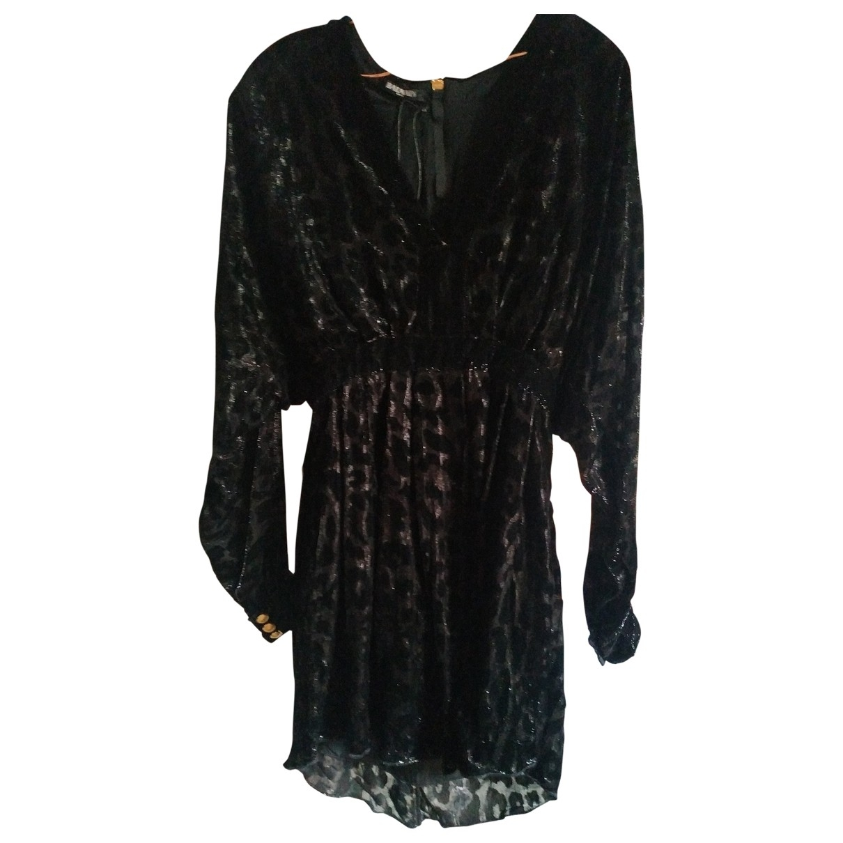 Balmain - Robe   pour femme en a paillettes - noir