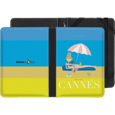 Amazon Kindle Paperwhite 3G eBook Reader Huelle - CANNES TRAVEL POSTER von IRMA